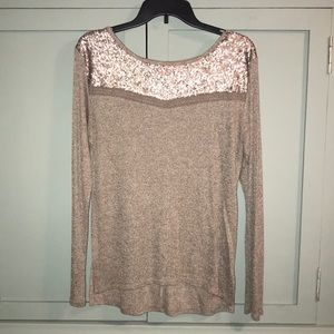 Daytrip Sequined Top